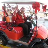 Mini Branded Promo Cars - Holiday Golf Carts!