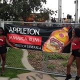 Tigris Multicultural Promotional Staff for Appleton Estate Jamaica Rum at Reggaefest Calgary
