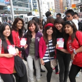 Tigris Multicultural Promotional Staff for Rogers MEZ Street Promo Toronto