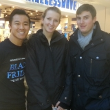Tigris Multicultural Promotional Staff for Metropolis at Metrotown Black Friday Promotion in Vancouver