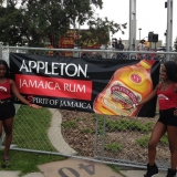 Tigris Multicultural Promotional Staff for Appleton Estate Jamaica Rum at Reggaefest Calgary