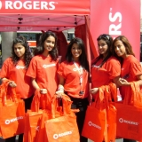 Tigris Multicultural Promotional Staff for Rogers at desiFEST Toronto