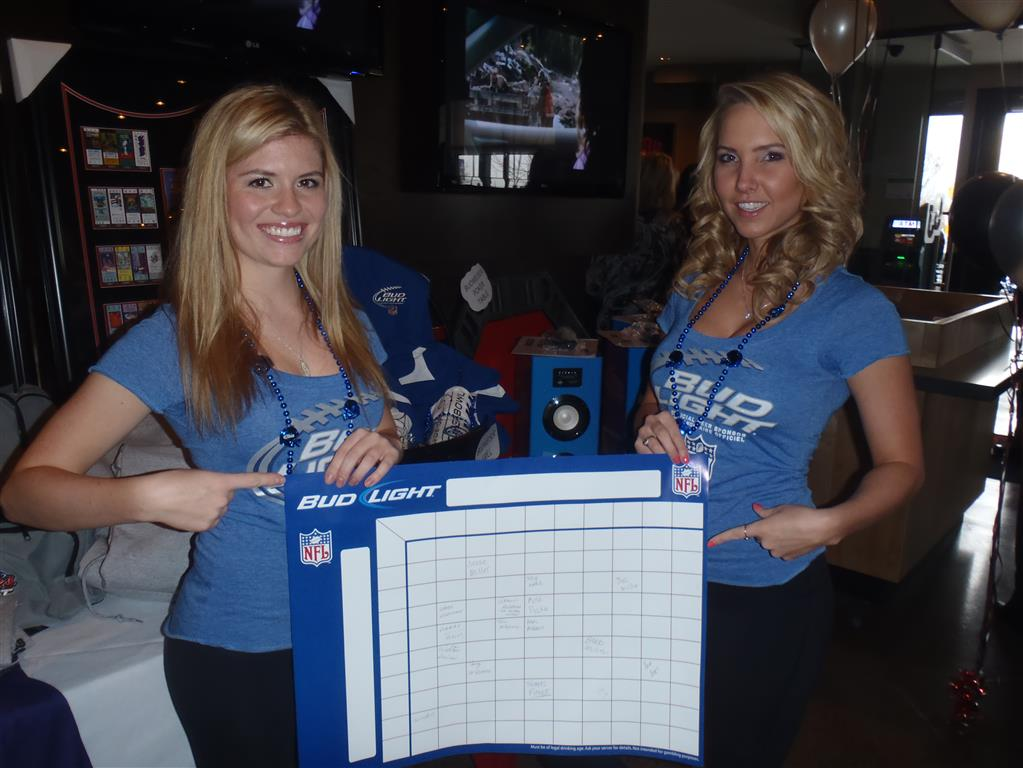 Promotional Staff for a Grand Opening of Shoeless Joes