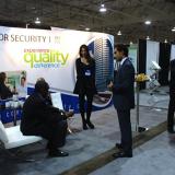 Condor Security Trade Show Displays in November 2014