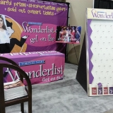 Toronto Star and Wonderlist's Trade Show Displays