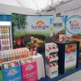 Sun-Rype's Trade Show Displays at Grocery Showcase West in 2014