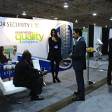 Condor Security Trade Show Displays in November 2014