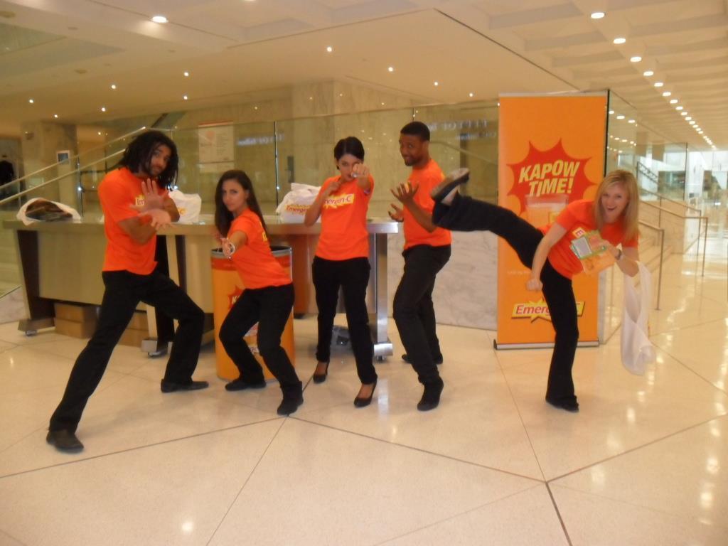 Brand Ambassadors Toronto promoting Emergen-C