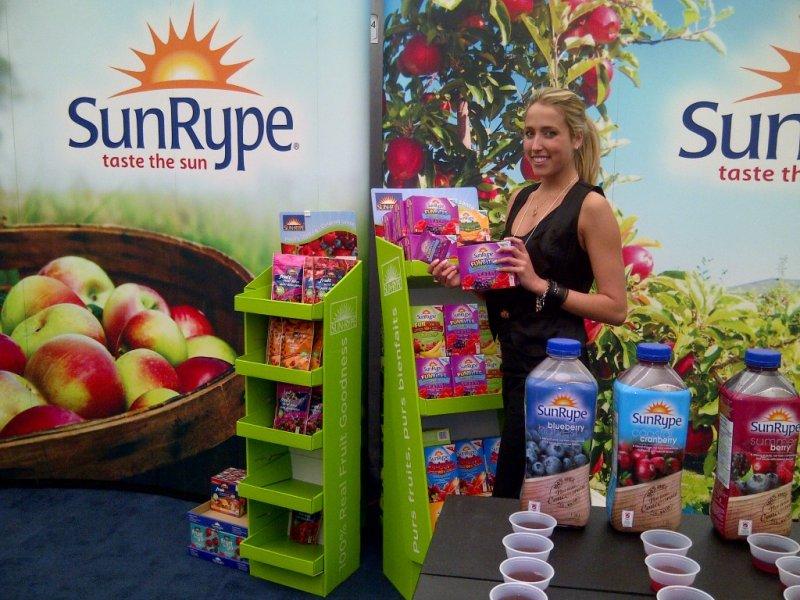 Brand Awareness Goals for SunRype