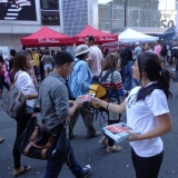 Canderel Promotion at Busker Fest Toronto