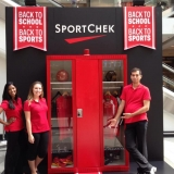 Sport Chek Mystery Locker at Toronto Eaton Centre