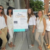 Experiential Marketing Toronto Launch for Camden in association with Candice & Alison