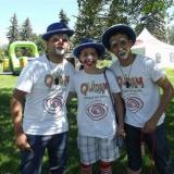 Cirque du Soleil event staff