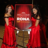 Rona VIP Evening event staff