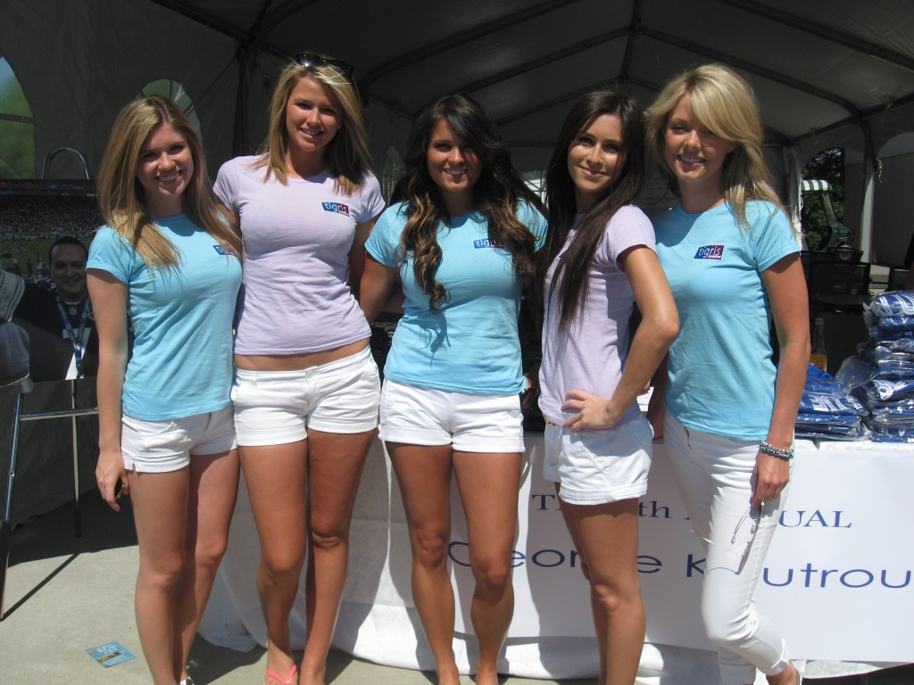 Promotional Models Host 4th Annual Koutroubis Golf For