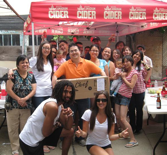 Molson Canadian Cider experiential marketing campaign