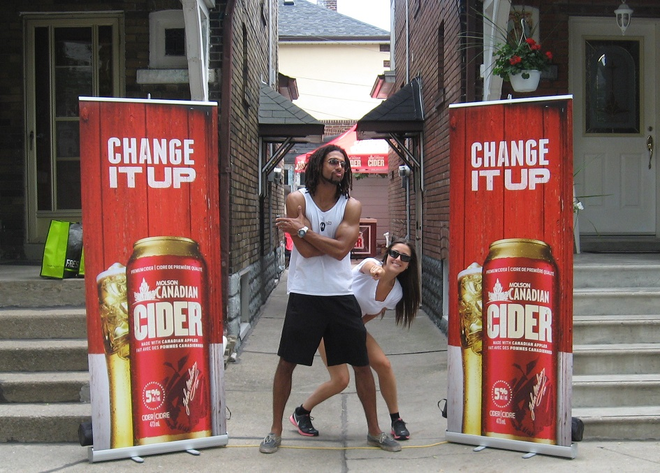 Molson Canadian Cider - Change It Up