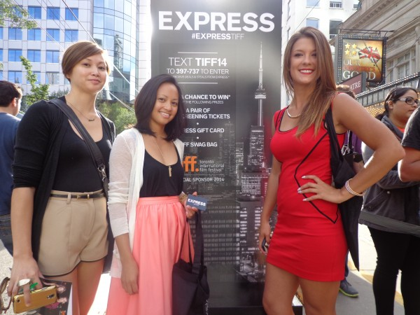 Toronto's Best Promo Staff for Express