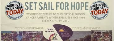 set sail for hope fundraising development