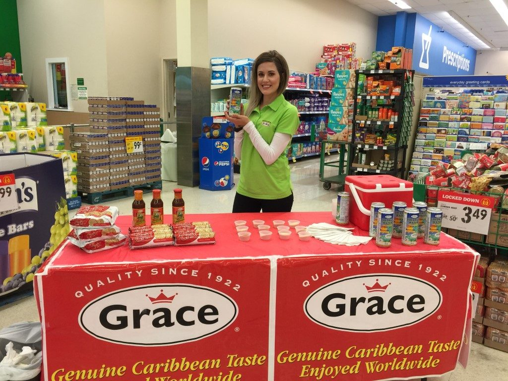 Store Demo Sampling For Grace Kennedy Foods