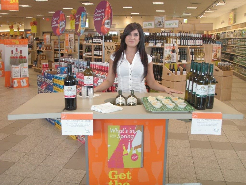 Alcohol Sampling Promo Models for Top Brands Across Canada