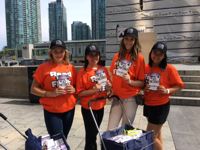 Toronto book promotion