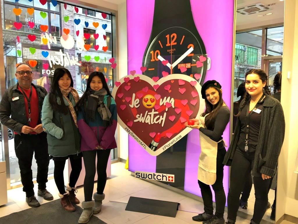 Valentines Retail Promotion
