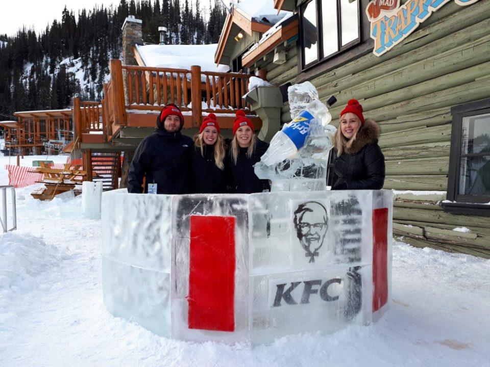 Ice Sculpture Activation