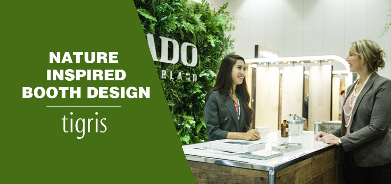 nature inspired booth design