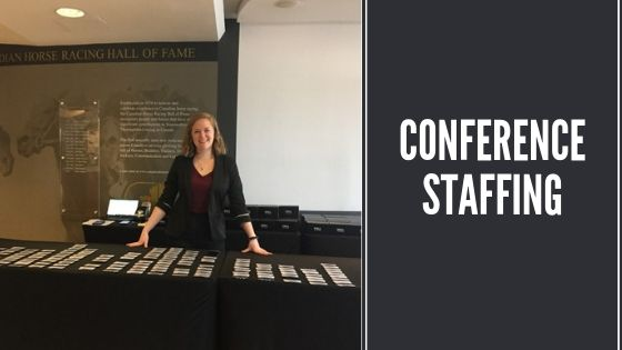 conference staffing